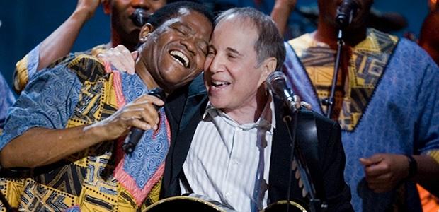 Joseph Shabalala, Paul Simon (Photo: Getty Images)