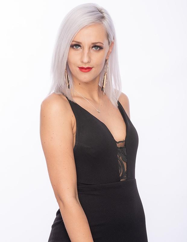 Bachelor SA contestant Greta.