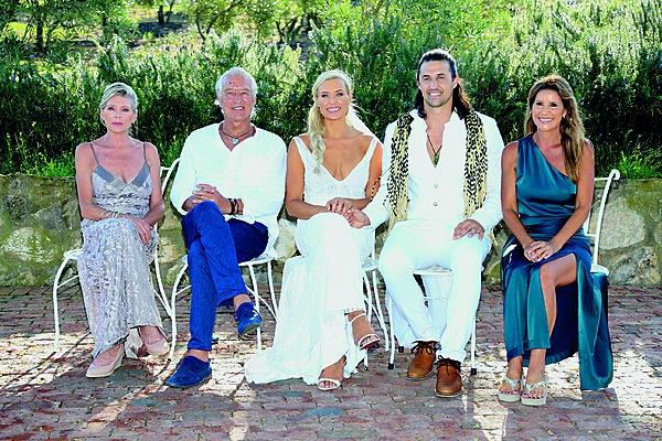 Roxy en Sam saam met haar ouers, Azille en Rob Louw, en Sam se ma, Jacqui Wilson. Foto: Corrie Hansen