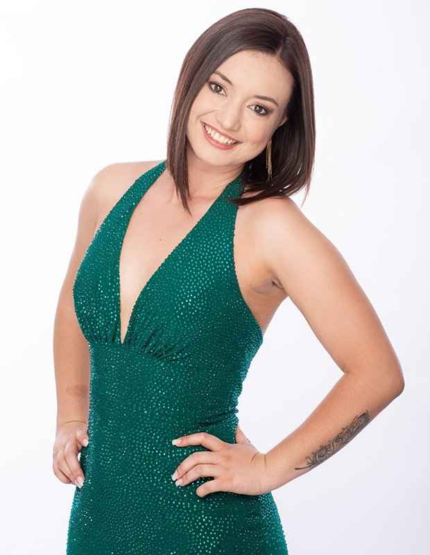 Bachelor SA contestant Michaela.