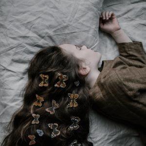 Parents can help their teenage children get enough sleep.