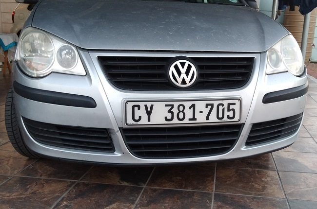 Front bumper of the facelifted 9N3 Polo