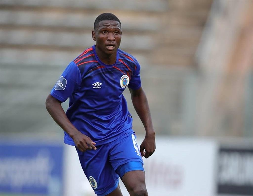 Botswana international Thatayaone Ditlhokwe has cemented his place at SuperSport United. Photo: Shivambu / Gallo Images