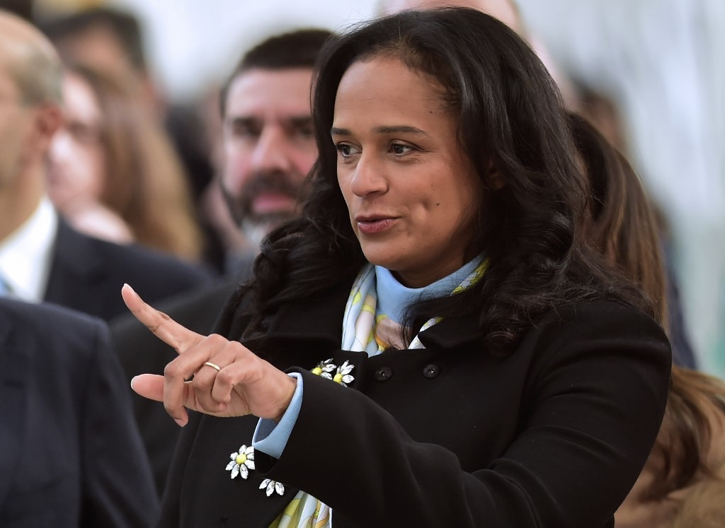 The billionaire daughter of Angola's former president Isabel dos Santos - charged in January with several financial crimes - is Unitel's chairman thanks to her 25% holding through her firm Vidatel.