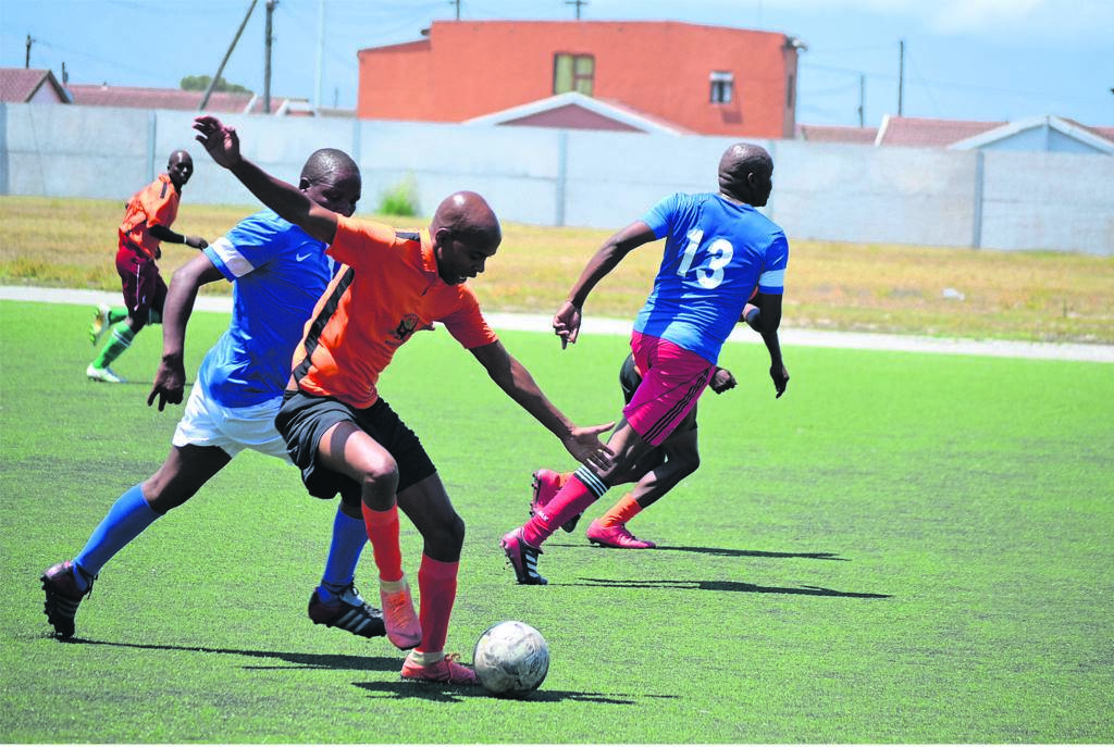 One of the opening games of Township Legends League.PHOTOS: UNATHI OBOSE