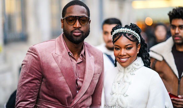 Gabrielle Union and Dwayne Wade France. Photographed by Berthelot