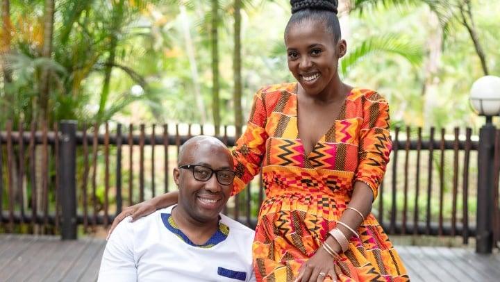 Zodwa Tshabalala and her husband Sibusiso