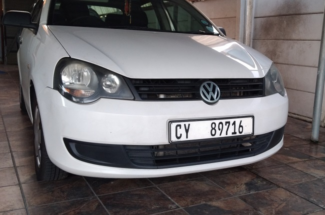 Front bumper of the 9N3 Polo Vivo