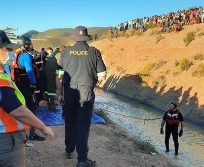 Police find body of little girl near canal.