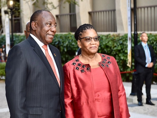 cyril ramaphosa, thandi modise,