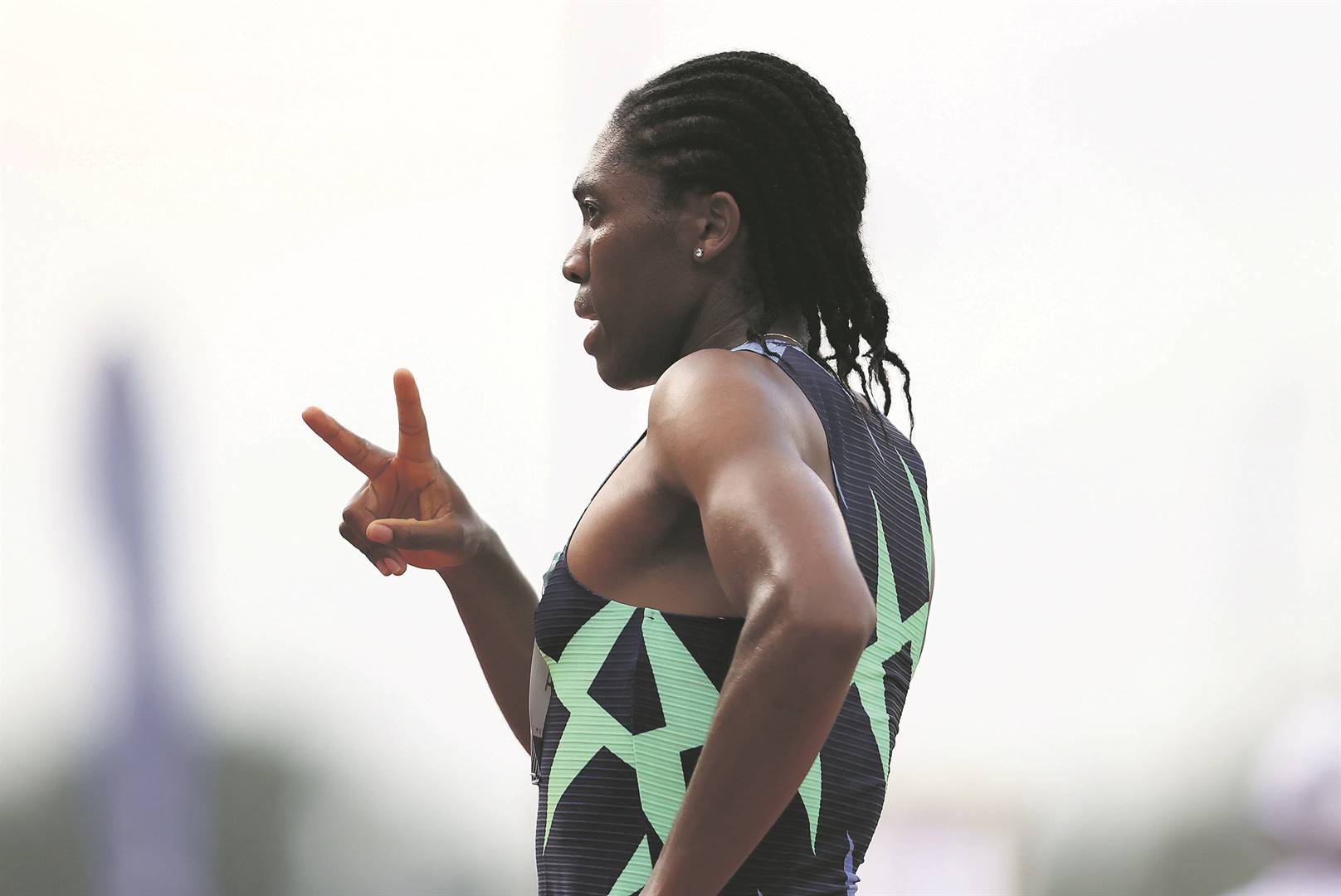 Caster Semenya is one of Team SA's medallists from the previous Olympics in Brazil. Photo: Roger Sedres / Gallo Images