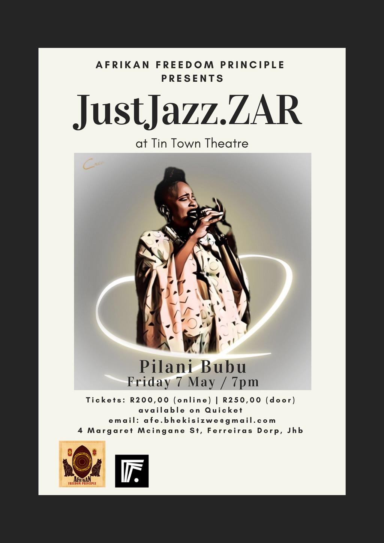 Pilani Bubu will be accompanied by Thami Mahlangu,