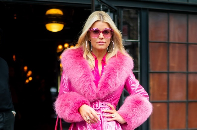 Jessica Simpson is seen in the East Village.  Photographed by Gotham