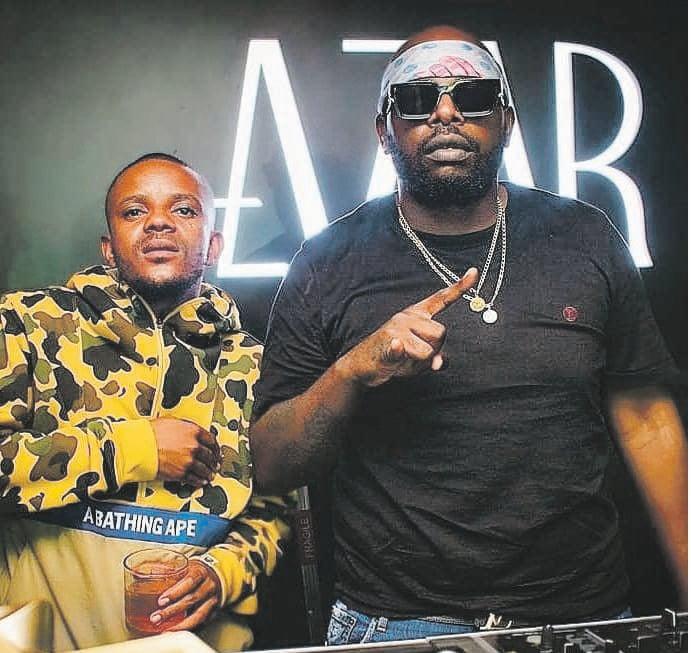Amapiano pioneersKabza De Small and DJ MaphorisaPHOTO: INSTAGRAM