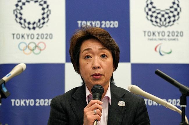 President of the Tokyo 2020 Organising Committee Seiko Hashimoto (AFP)