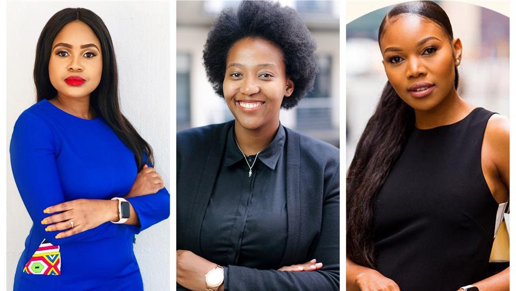 Tebello Motshwane, Omphile Boikanyo  and Aurelia Nxumalo. All images: Supplied