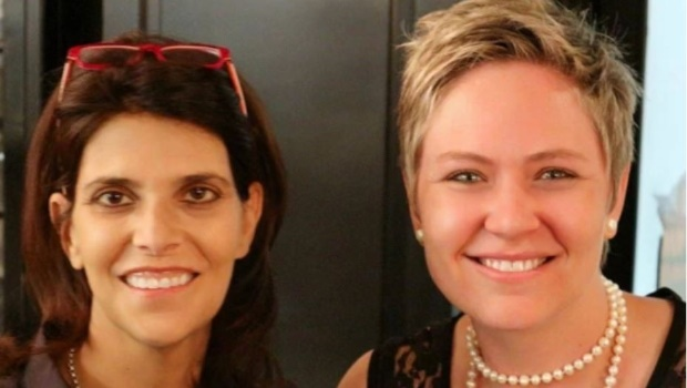 Carine Terblanche and Dr Sheldeen Botha. (Photo: Supplied)