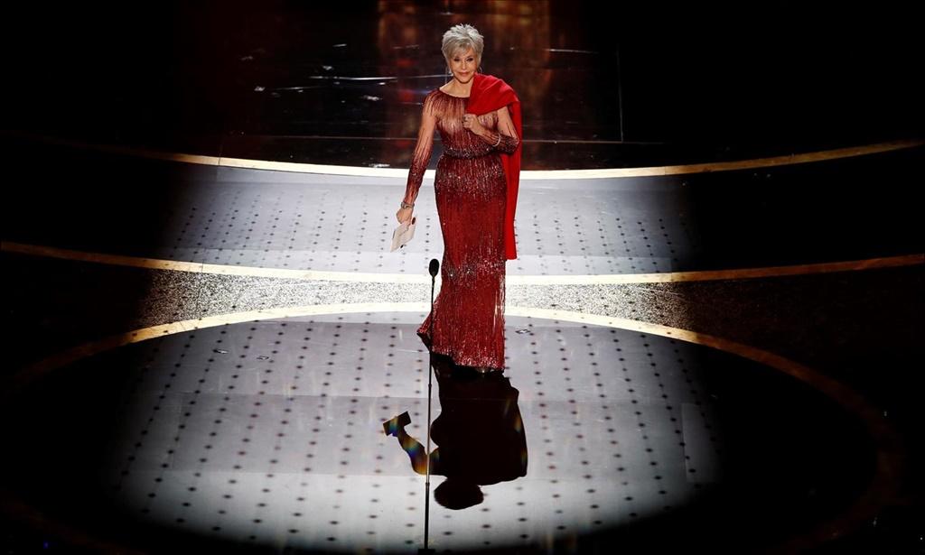 Actress Jane Fonda. Photo: ETIENNE LAURENT/EPA