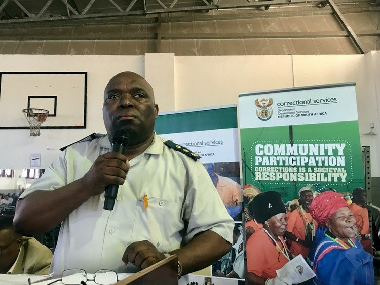 Pollsmoor Prison area commissioner Ntobeko Mketshane addressed a packed Dunoon municipal hall, urging residents to open their hearts and allow offenders back into the community.