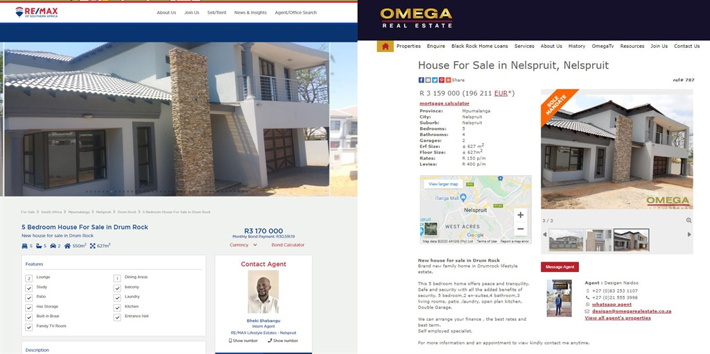 Re/Max and Omega Real Esate