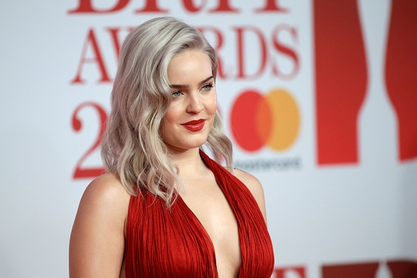 Anne Marie at The BRIT Awards 2018. Photographed by John Phillips