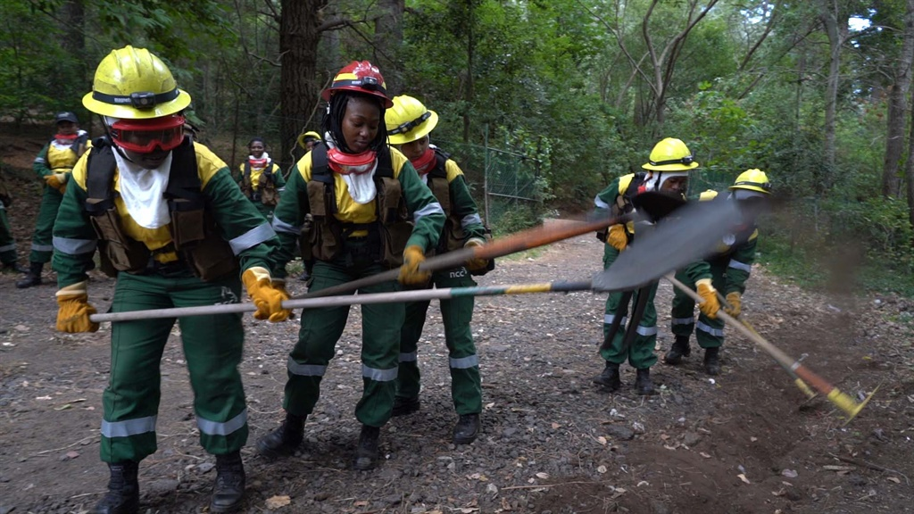 WATCH | This team is lit! Meet SA's very first all-female firefighting crew - News24