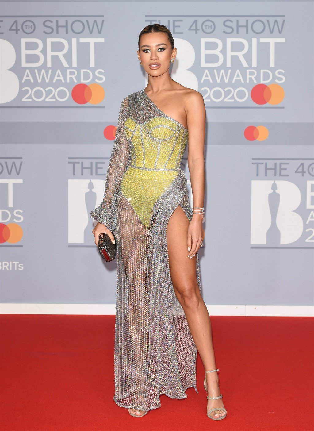 18 February 2020.The BRIT Awards 2020 held at The