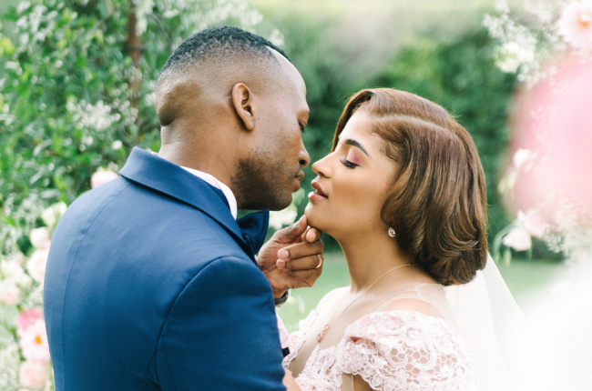 Inside Real Housewives of Durban star Annie Ludick and husband Kgolo Mthembu's wedding. Image: Lizelle Goussard/exclusively supplied to TRUELOVE