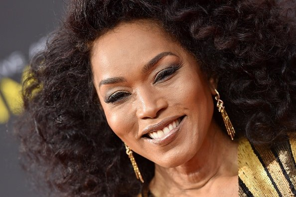 Angela Bassett at the 2019 Creative Arts Emmy Awards. Photographed by Axelle/Bauer-Griffin