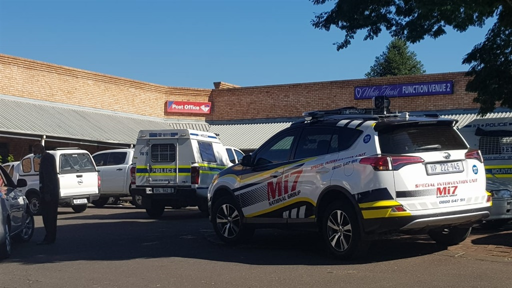 The Khan Road Post Office in Truro Plaza, Pietermaritzburg, was robbed on Tuesday morning.