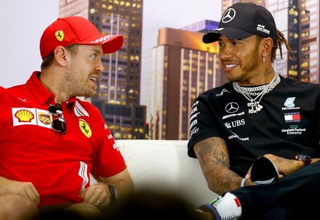 Sebastian Vettel, Lewis Hamilton,f1,formula 1