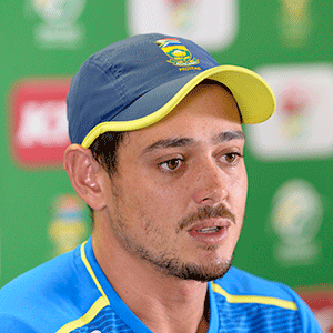 De Kock baffled by Proteas' poor performance in T20 decider