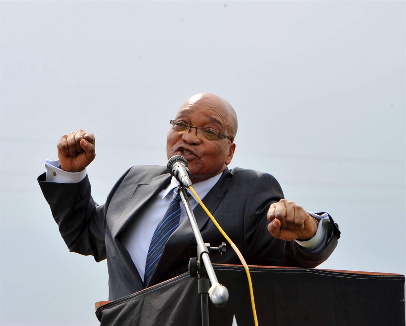 You touch Jacob Zuma, you touch us – Mahumapelo