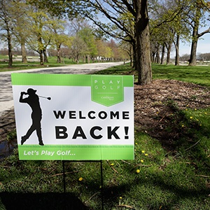 Golf to return behind closed doors? (Getty Images)