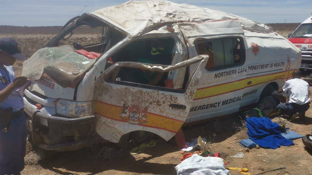Toyota panel vans are allegedly being converted into ambulances, despite the fact that they are not designed to carry passengers in the rear of the vehicle.
