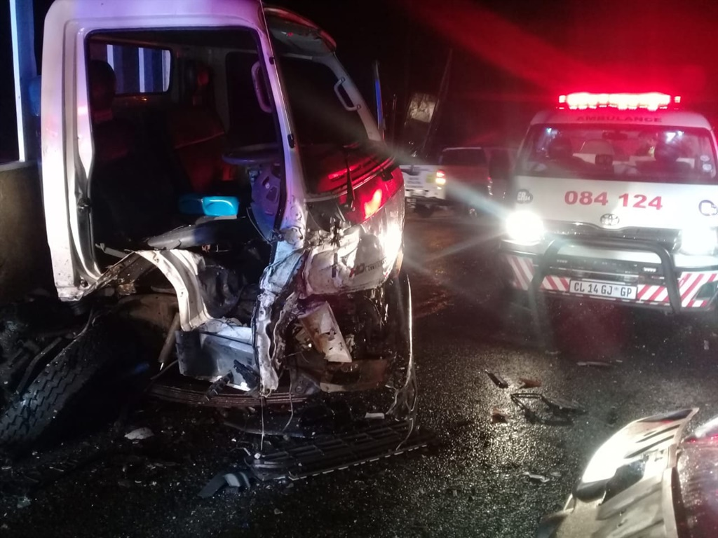 One person sustained serious injuries and another