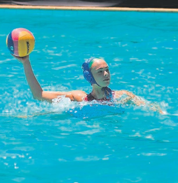 Leah Goodman is passionate about water polo, and it shows. The Westerford High School learner's dedication to the sport has led to her being selected for the for the SA u.17 water polo girls team to participate the EU Nations Cup championships in Brno. PHOTO: Debbie Adcock