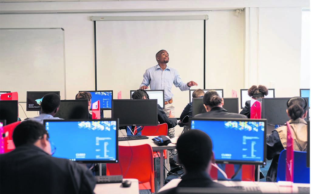 Learners from Curro Foreshore participated in a Python coding bootcamp, over three days.