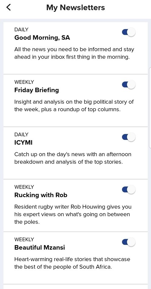 news24 new app feature