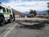 De Doorns farmworkers strike on the N1