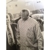 As Editor of the Atlantis community newspaper, I had the fortunate chance to meet Mr Mandela when he came to visit the town of Atlantis way back in the mid 90s. I took this photo that day. - Emile Butler