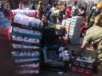 Food galore at Mugabe's inauguration! Payment for voting or farewell?