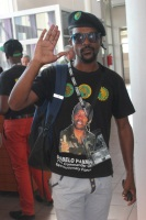IZWE LETHU: PASMA member Luvo Jaza with the familiar PAC salute!