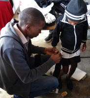 WSU students donates R12000 worth of school uniforms