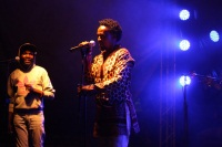 Concert sponsored by Hennesy and graced by Anto Neo Soul and Grammy award winning trumpeteer Owuor Arunga at the Alliance Francaise in Nairobi (Eugene Odanga, News24 user)