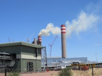 Medupi Power Station, ready to add power to the national grid. Boiler 6 testing