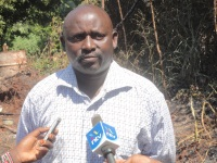 Julius Wahome Wambugu, whose house was torched by unknown arsonists at night. He is also the chairman of New Gikaru Coffee cooperative society. (Joseph Njung'eh, News24 User)