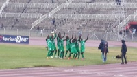 Gor players celebrating Dan Sserukuma's goal (Alfred Onyango, News24 user)