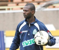 Gor mahia's goal keeper trainer Iddi Salim; Gor's Jerry Onyango saved four penalties to help the team sail through (Alfred Onyango, News24 user)