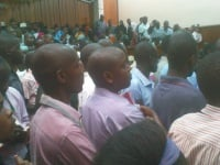 Members of the public curiously following the courts proceedings (Rodgers Buluma, News24 user)